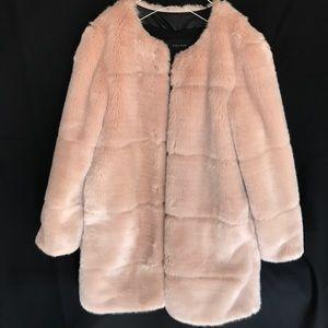 ZARA fur jacket coat